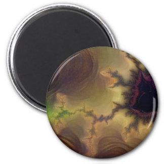 Da Vinci  Mandelbrot Zoom Magnet