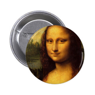 Da Vinci Mona Lisa Pinback Button