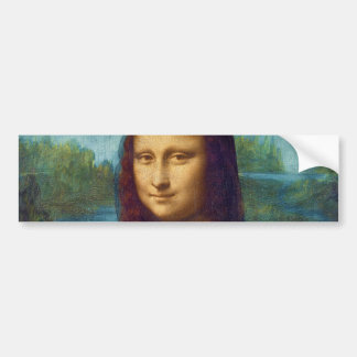 Da Vinci: Mona Lisa Bumper Sticker