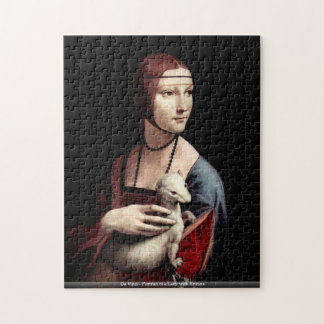 Da Vinci - Portrait of a Lady with Ermine Jigsaw Puzzle