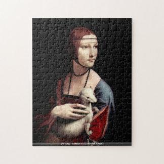 Da Vinci - Portrait of a Lady with Ermine Puzzles