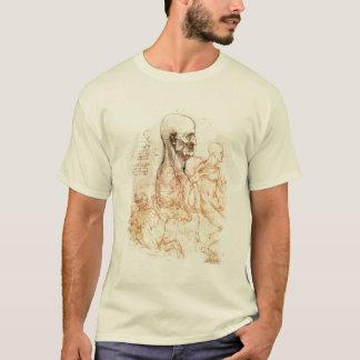 da Vinci Sketch -- Man and Horse T-Shirt