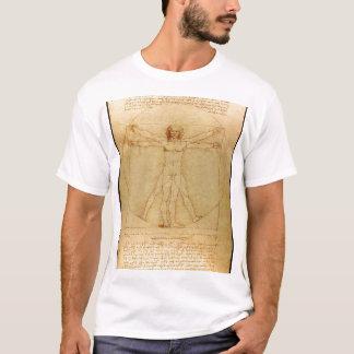 Da Vinci - Vitruvian Man T-Shirt