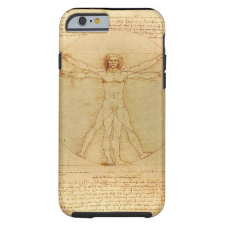 Da Vinci Vitruvian Man Tough iPhone 6 Case