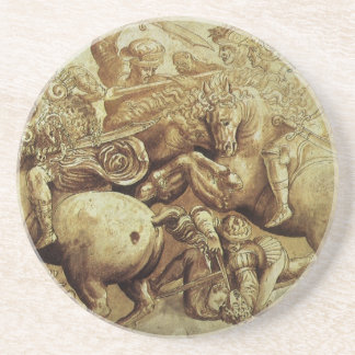 da Vinci's Battle Of Anghiari Coaster