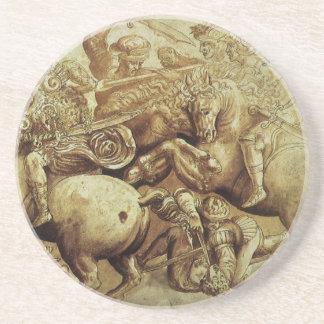 da Vinci's Battle Of Anghiari Drink Coaster