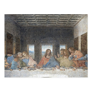 da Vinci's The Last Supper Postcard