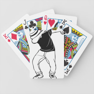 Dab Dance Bicycle Playing Cards