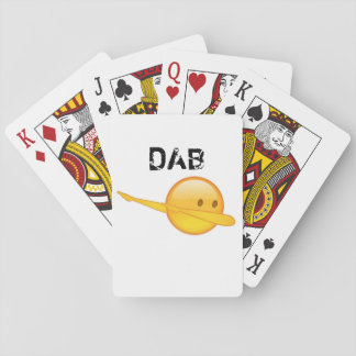 Dab emoji Playing Cards