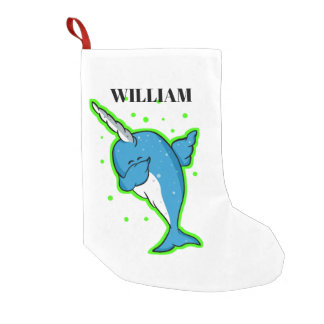 dab narwhale all shops small christmas stocking