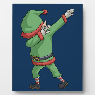 Dab Santa Elf Funny Novelty Christmas Gift Items Plaque
