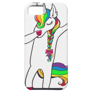 Dab unicorn case for the iPhone 5