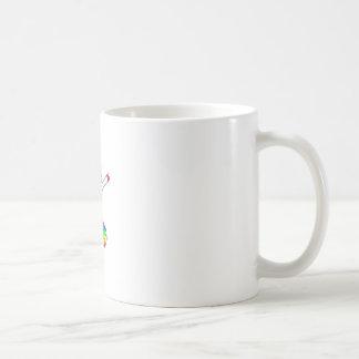 Dab unicorn coffee mug