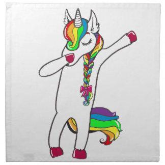 Dab unicorn napkin