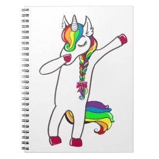 Dab unicorn notebook