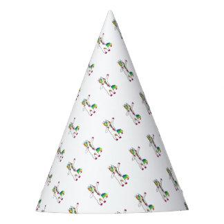 Dab unicorn party hat