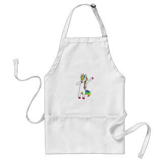 Dab unicorn standard apron