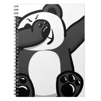 Dabbing Animals Panda Notebook