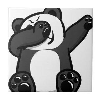 Dabbing Animals Panda Tile