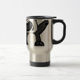 Dabbing Animals Panda Travel Mug