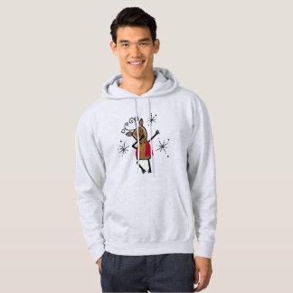 Dabbing Dancer Reindeer Hoodie