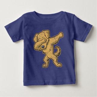 Dabbing Golden Retriever Dog Dab Baby T-Shirt