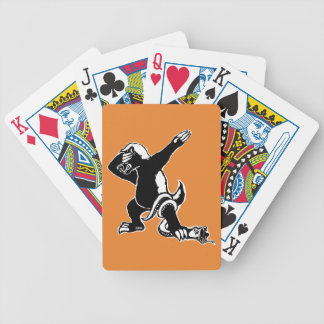 Dabbing Honey badger Bicycle Playing Cards