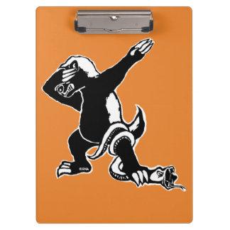 Dabbing Honey badger Clipboard