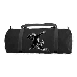 Dabbing Honey badger Gym Bag