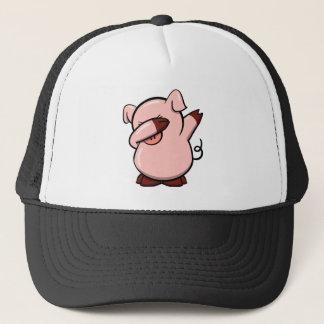 Dabbing Pig Trucker Hat