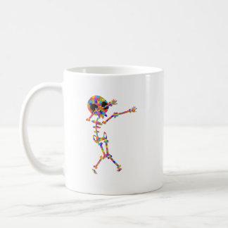Dabbing Skeleton For Autism Coffee Mug