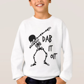 Dabbing Skeleton, gifts for teens Sweatshirt