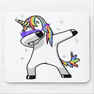 Dabbing Unicorn Mouse Pad