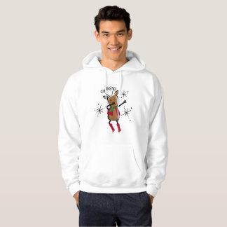 Dabbing Vixen Reindeer Hoodie