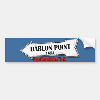 Dablon Point Sticker