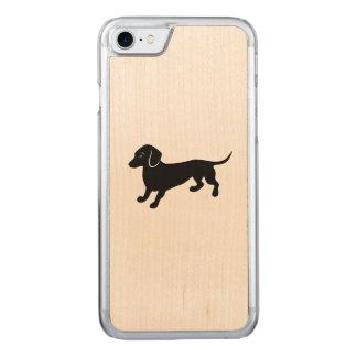 dachshund2.ai carved iPhone 8/7 case