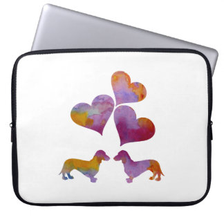 Dachshund Art Laptop Sleeve