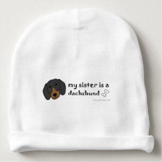 dachshund baby beanie