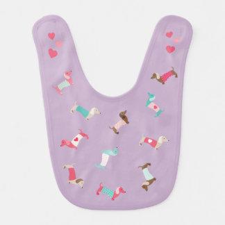 Dachshund Baby Bib Baby Shower Gift