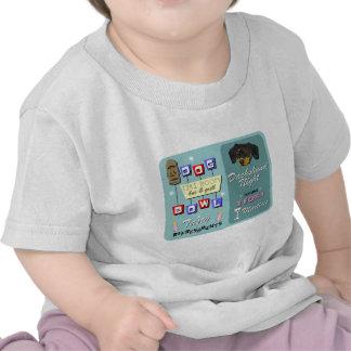 Dachshund Bowling Tiki Night T-shirt