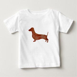 Dachshund Brown Dog Baby Fine Jersey T-Shirt, Baby T-Shirt