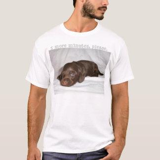 Dachshund Chocolate Longcoat Pup T-Shirt