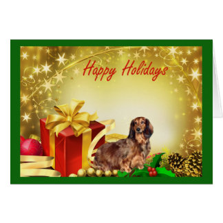 Dachshund Christmas Card Gifts3