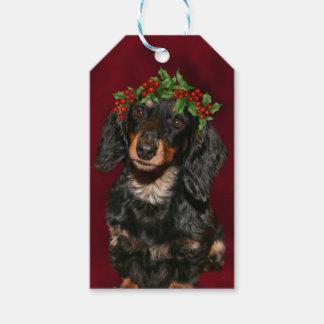 Dachshund Christmas Gift Tags