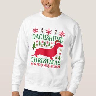 DACHSHUND CHRISTMAS ..png Sweatshirt