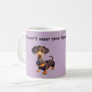 Dachshund Coffee Mug Funny Wiener Dog Gift