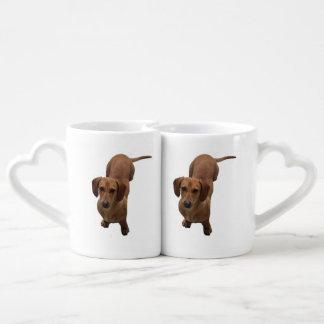 Dachshund Coffee Mug Set