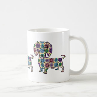 Dachshund - Colored Coffee Mug