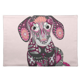Dachshund Colors Placemat