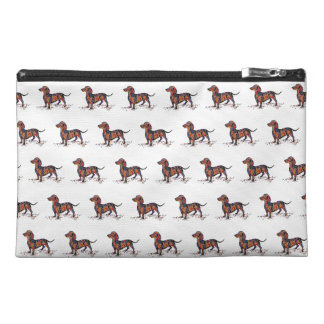 Dachshund - Cosmetic or small hang bag Travel Accessories Bag